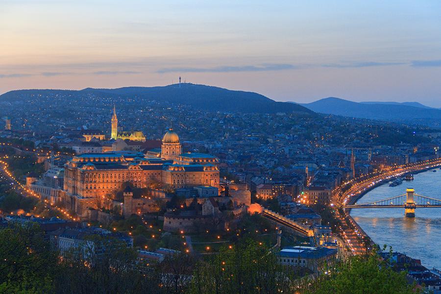 Budapest Hungarian Buda Castle