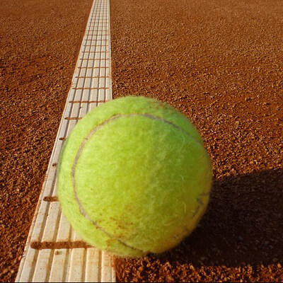 red clay tennis