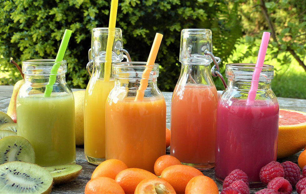 Smoothie vs. Real Food Diet