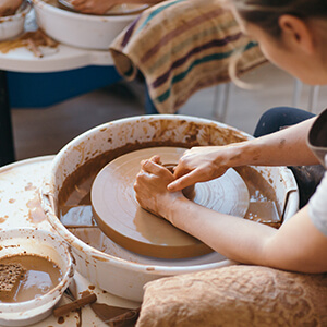 Connecting Pottery Class
