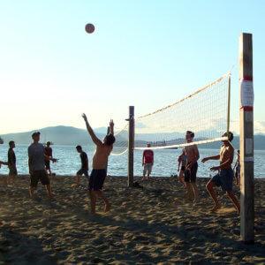 beach volleyball workout